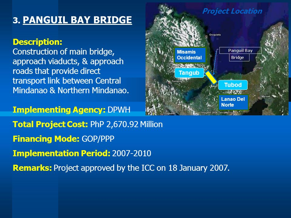 Construction of main bridge, approach viaducts, & approach