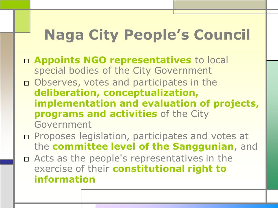 Naga City People's Council