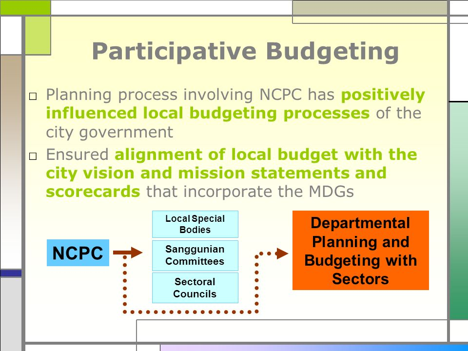 Participative Budgeting