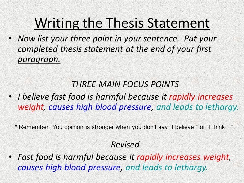 writing a thesis statement for a literature review Thesis writing in the sciences scientific style thesis introductions -- the literature review some prefer the rq is expressed as statement.