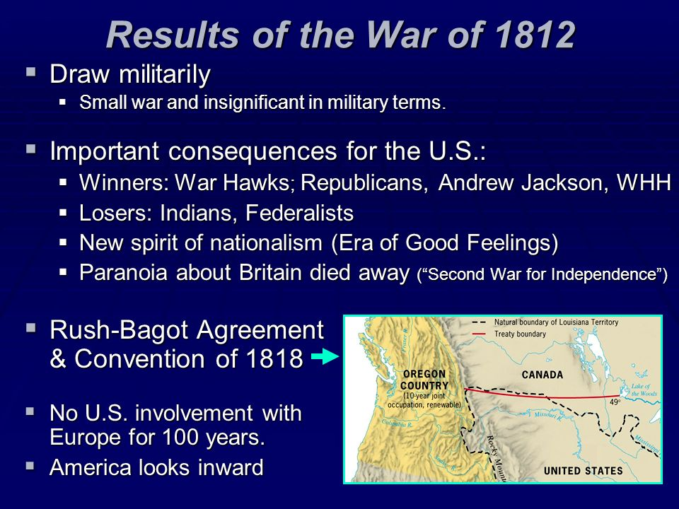 economic nationalism after the war of 1812 The war of 1812: american the us economy on june 18, 1812, after two decades an upsurge in american nationalism at the war's conclusion.