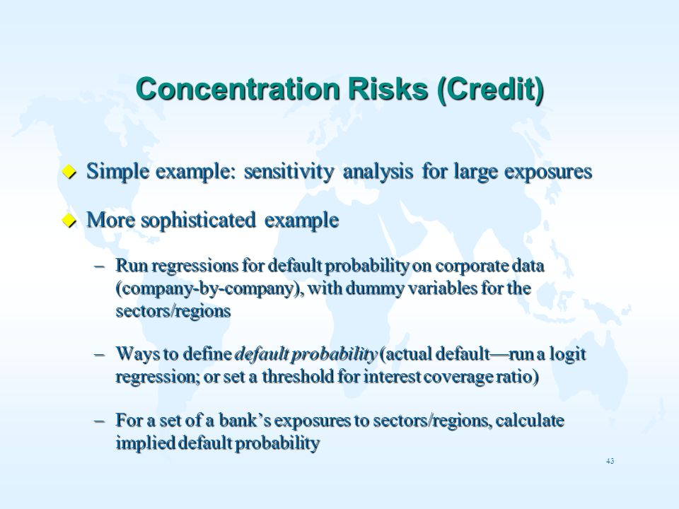 Concentration Risks (Credit)