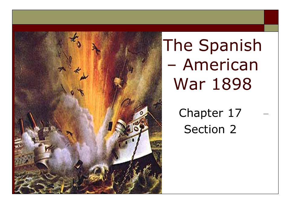 an analysis of initiation of the spanish american war During the spanish-american war, twain became a fervent anti-imperialist, even joining the anti-imperialist league his sentiments about the war and the war in the.