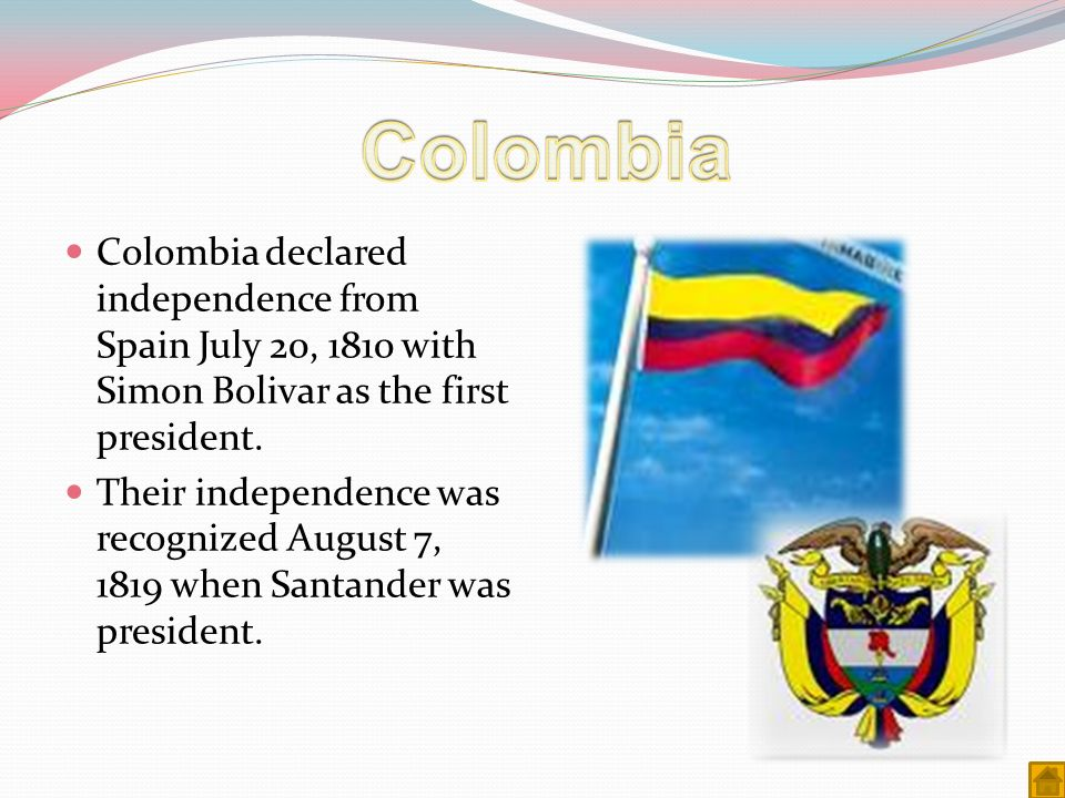 bolivias way to independence from spain Bolivia's president evo morales has been highlighting his government's independence from international money lending organizations and their detrimental impact the nation, the telesur tv.