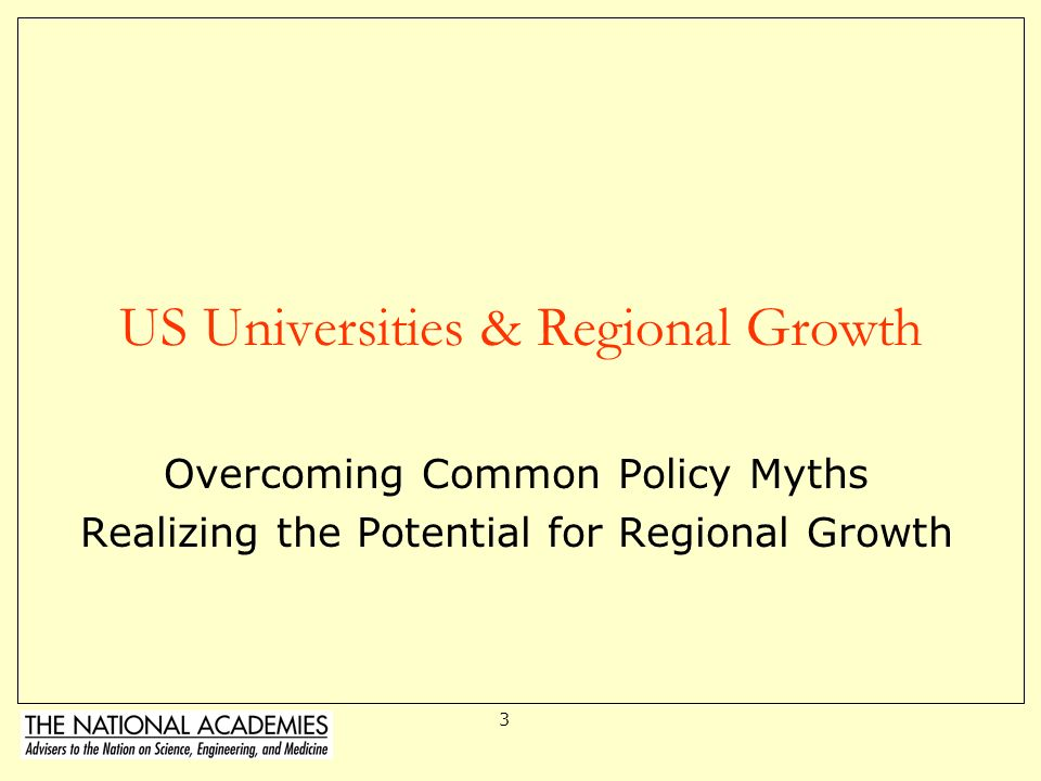 US Universities & Regional Growth
