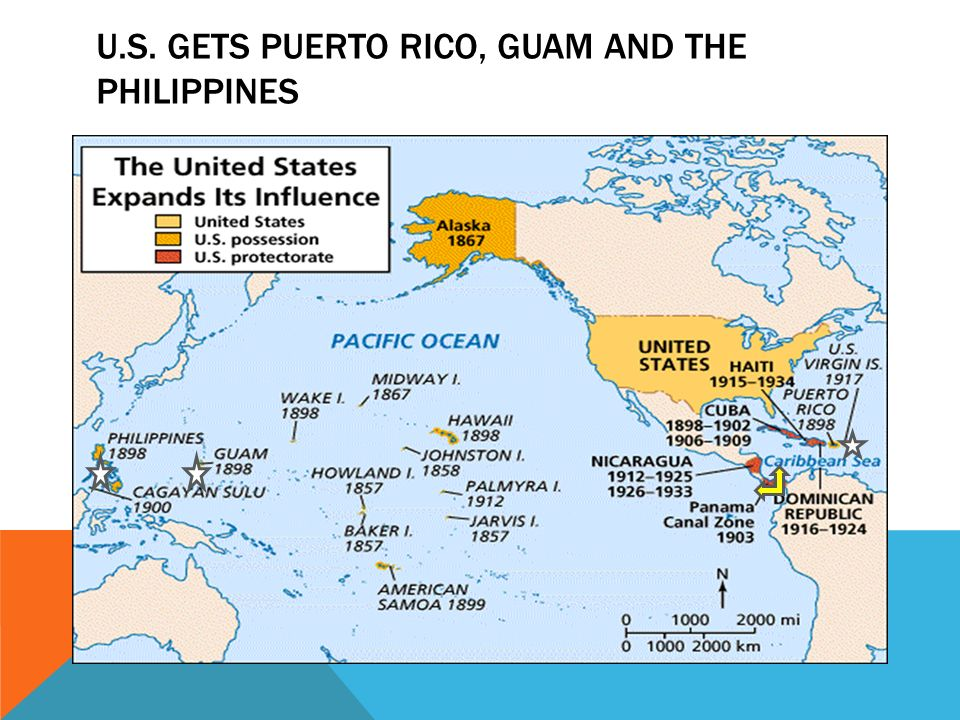 14 u s gets puerto rico guam and the philippines