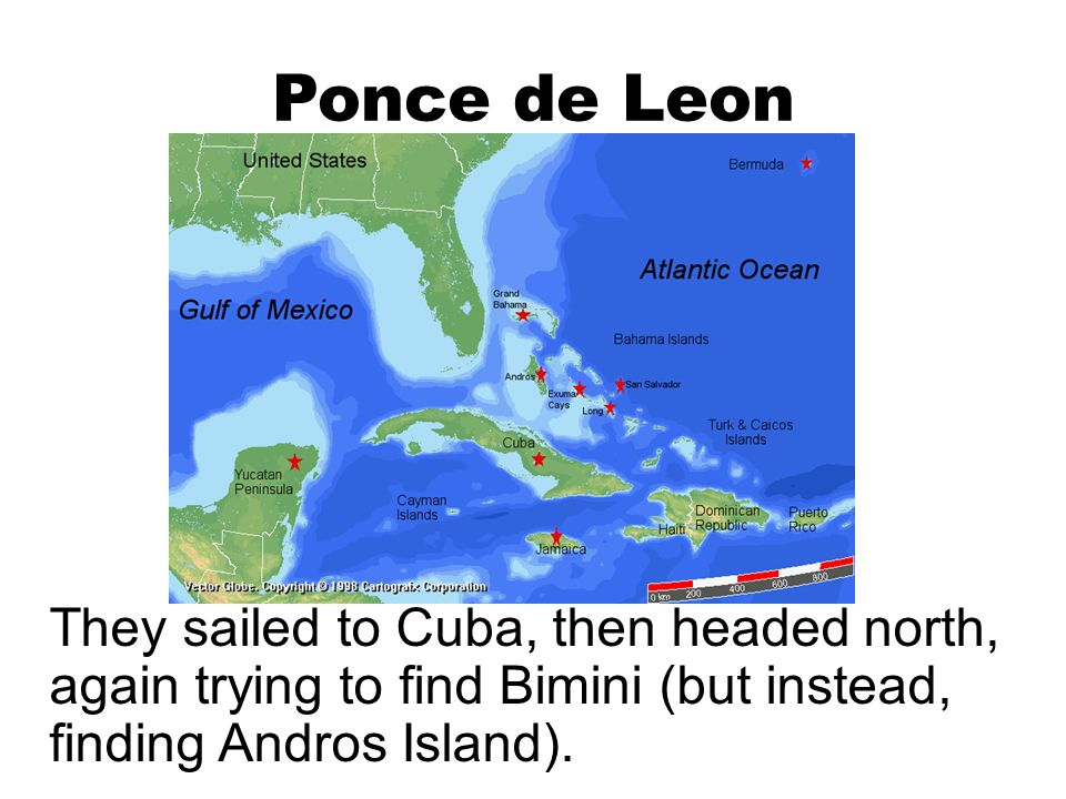 an introduction to ponce de leons search for the elusive fountain Spanish 10th essay ponce de leon don juan ponce de leon  it was at this time that ponce de leon began his search for the fountain of youth.