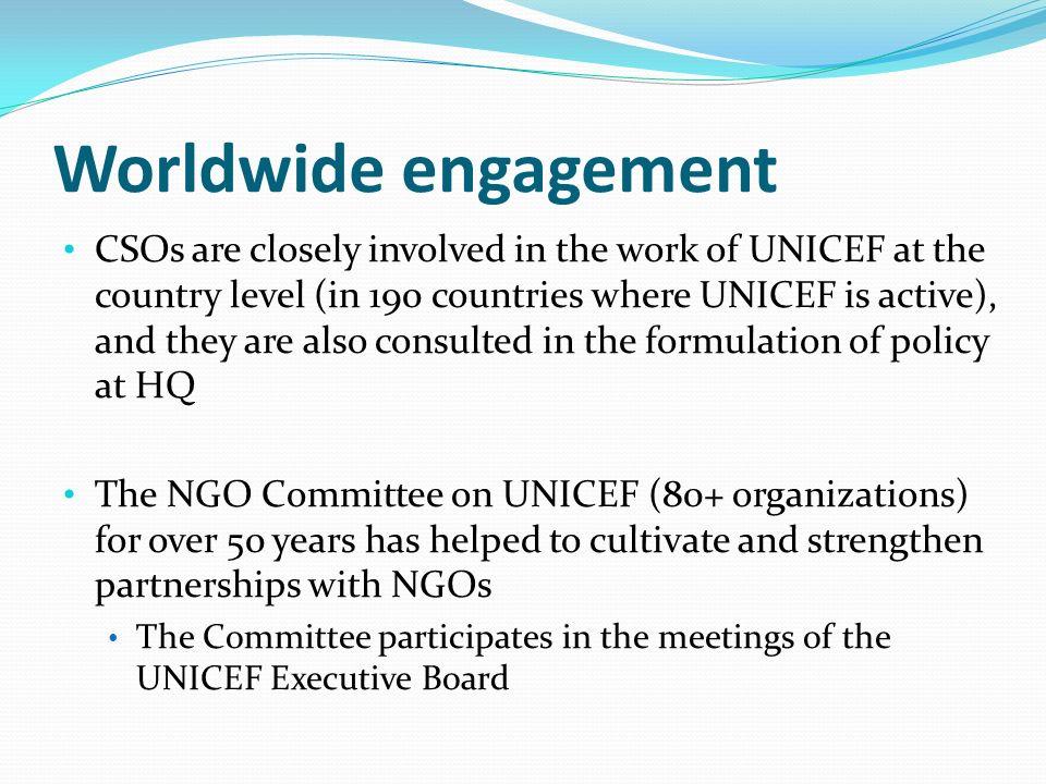 Worldwide engagement
