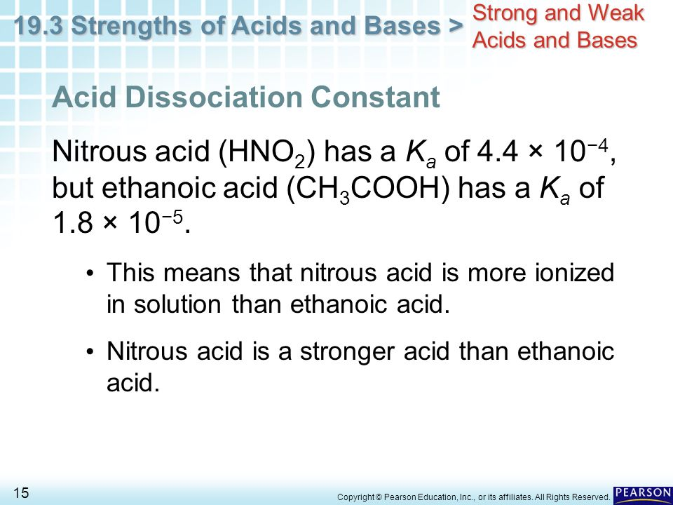 dissociation constant weak acids essay Time-saving video on salts salts are ionic compounds whose cations comes  from bases and whose anions come from an acids salts are formed through.