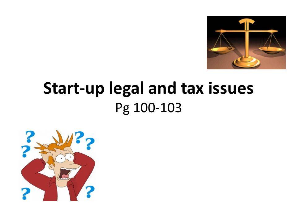 legal start up