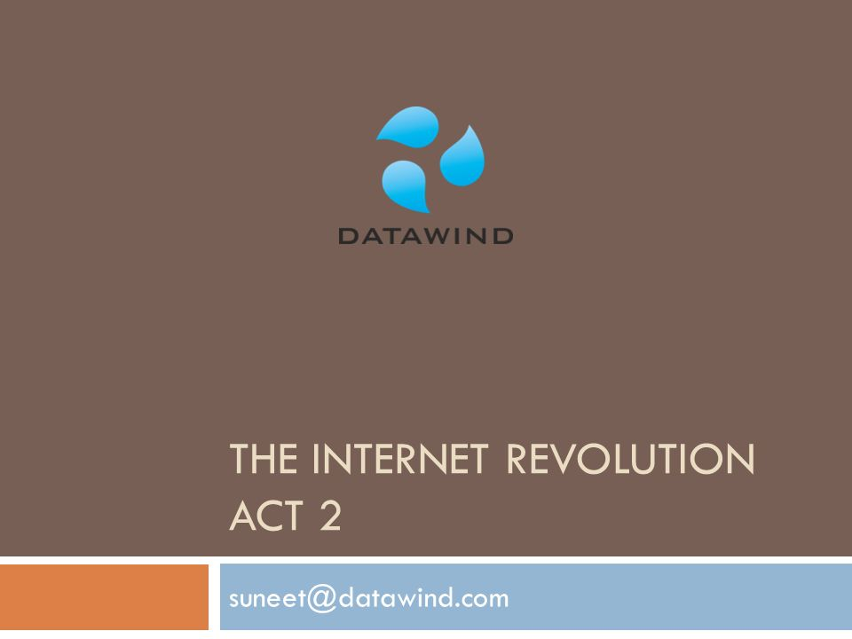 the internet revolution act 2