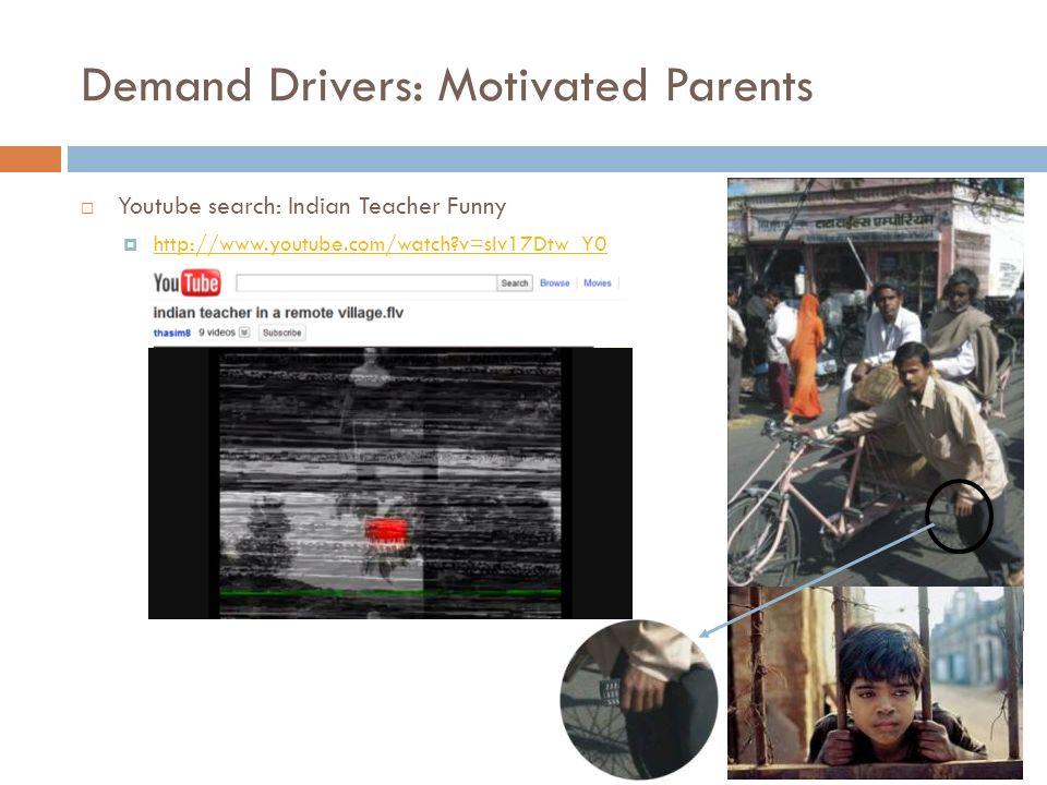 Demand Drivers: Motivated Parents