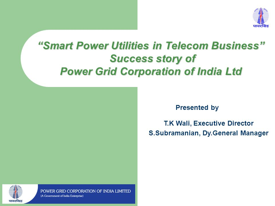 Smart Power Utilities in Telecom Business Success story of