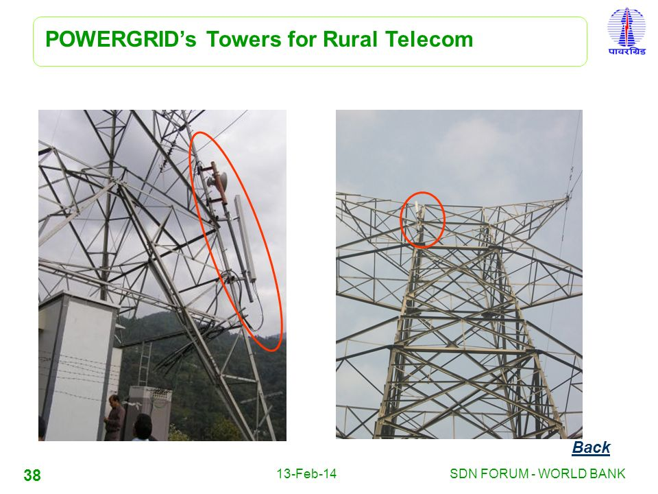 POWERGRID's Towers for Rural Telecom