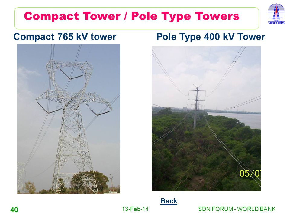 Compact Tower / Pole Type Towers