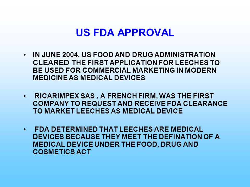 US FDA APPROVAL