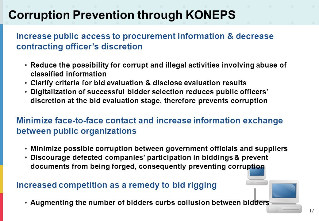 Corruption Prevention through KONEPS