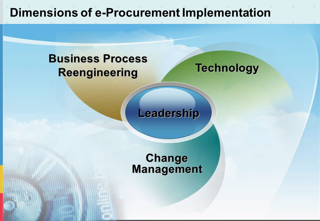 Dimensions of e-Procurement Implementation