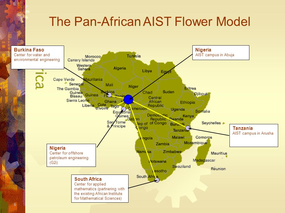 The Pan-African AIST Flower Model