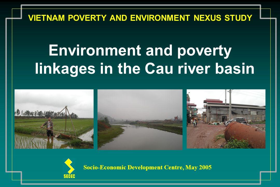 VIETNAM POVERTY AND ENVIRONMENT NEXUS STUDY