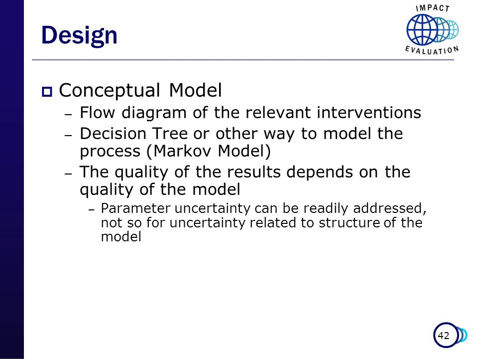 Design Conceptual Model Flow diagram of the relevant interventions