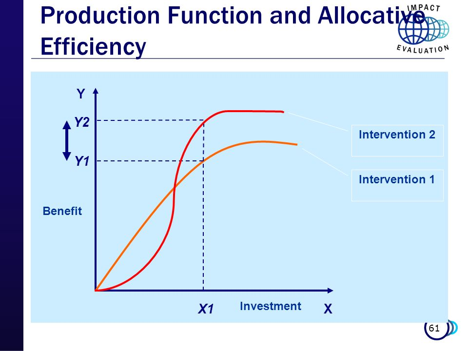 Production Function and Allocative Efficiency