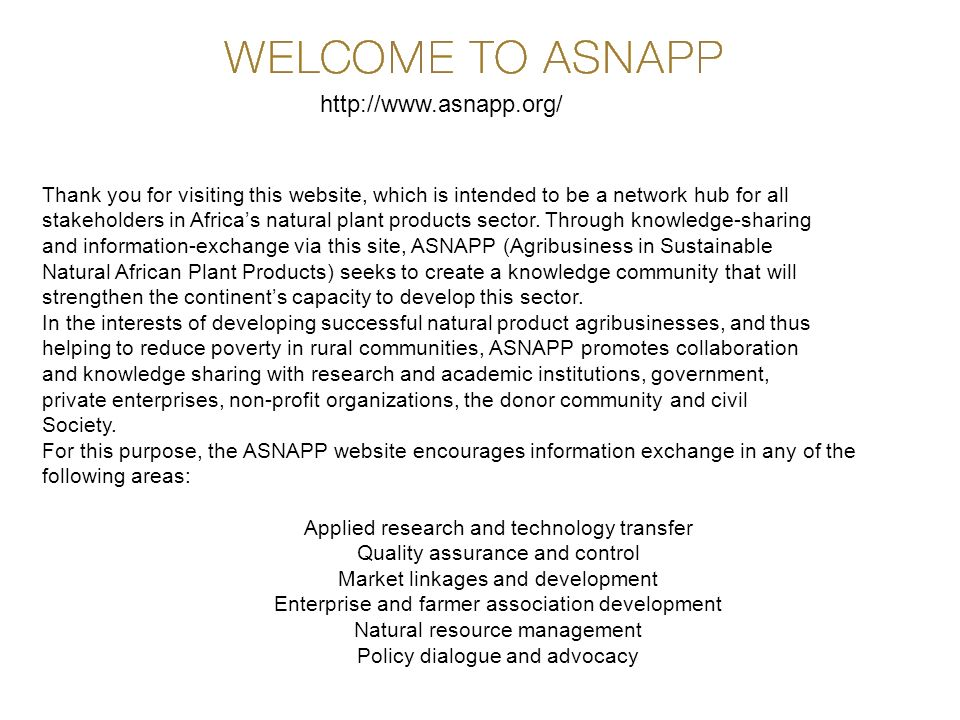 http://www.asnapp.org/ Thank you for visiting this website, which is intended to be a network hub for all.