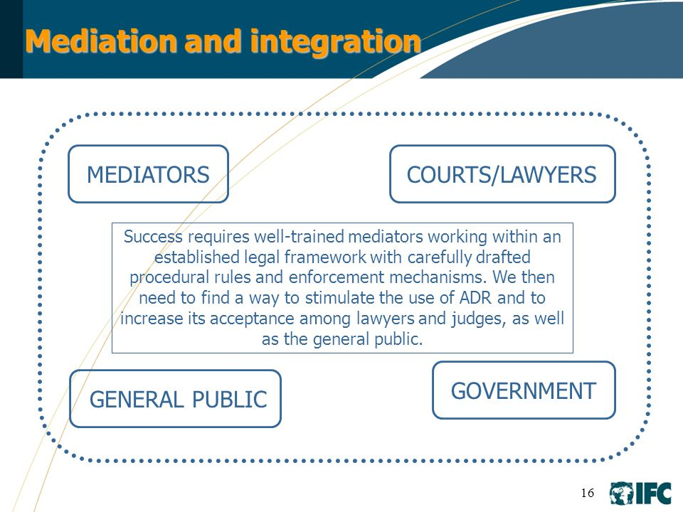Mediation and integration