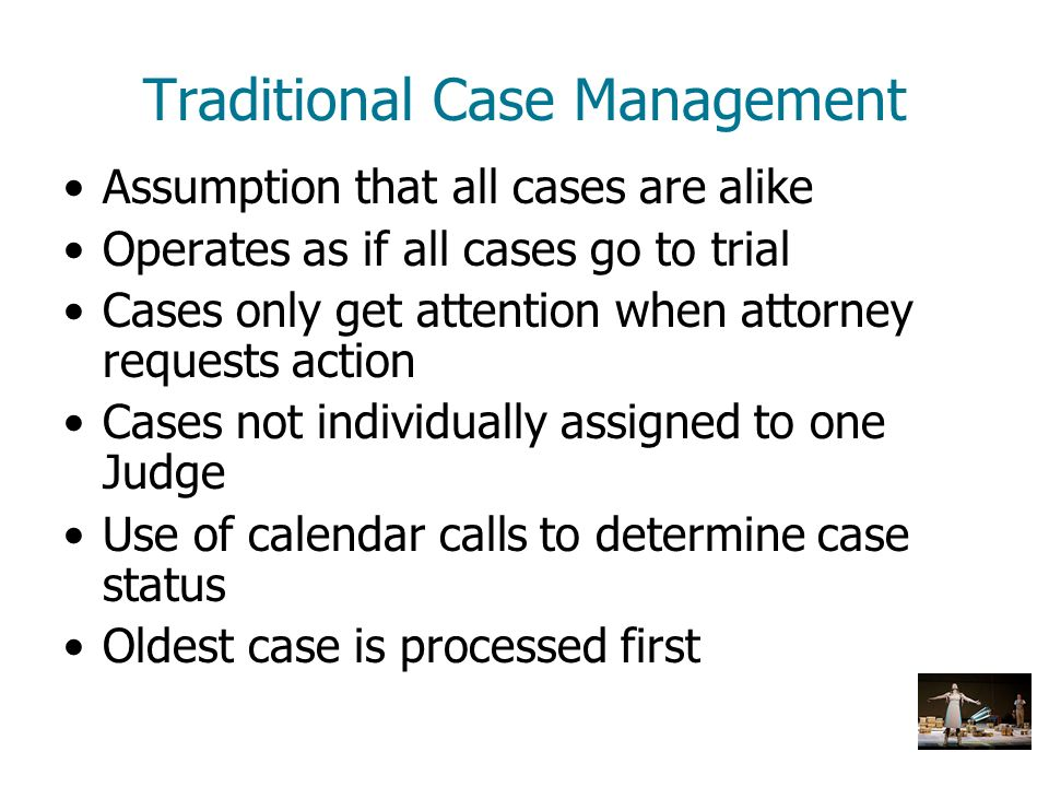 Traditional Case Management