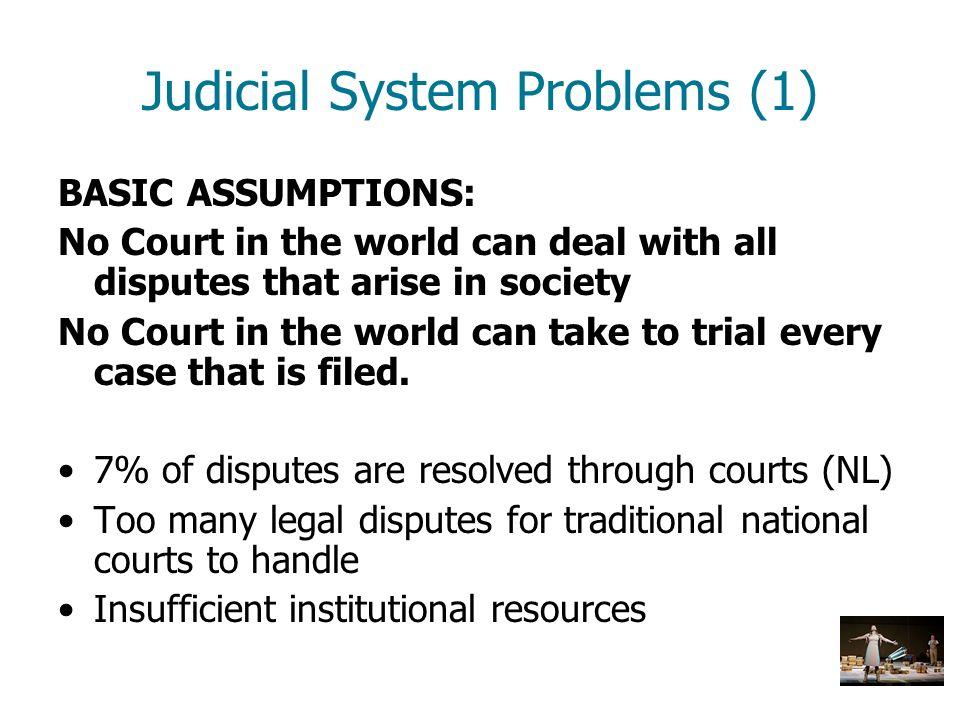 Judicial System Problems (1)