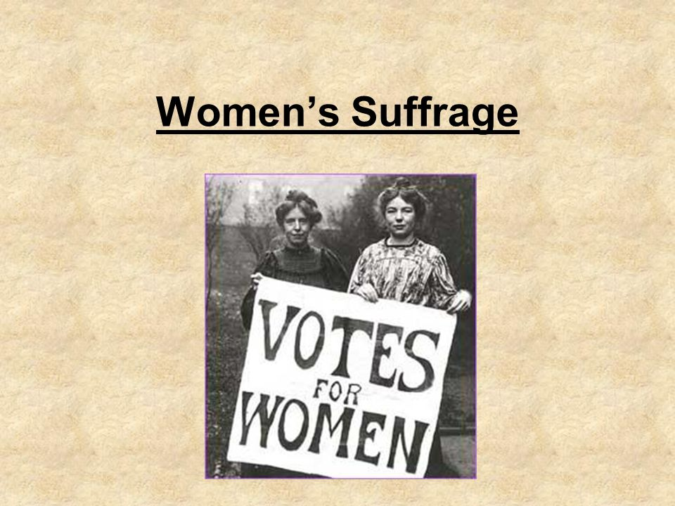 an analysis of the womens suffrage movement Propaganda and women's suffrage grade posters from the american women's suffrage movement to gain an to support analysis of primary and.