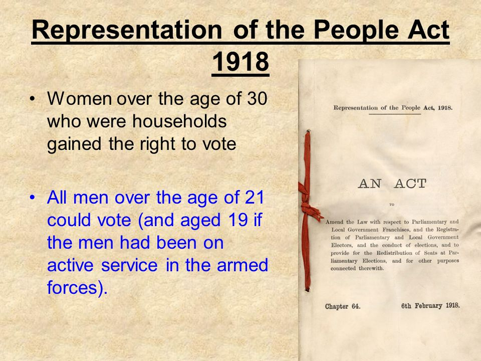 Representation of the People Act, 1951