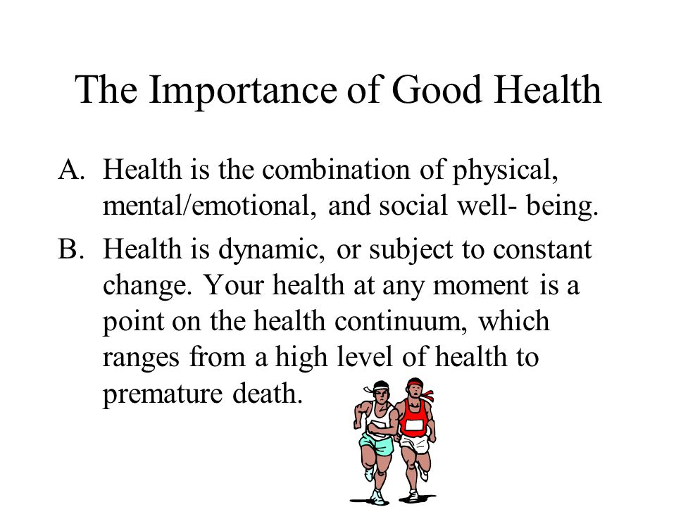 Essay On Importance Of Physical Health