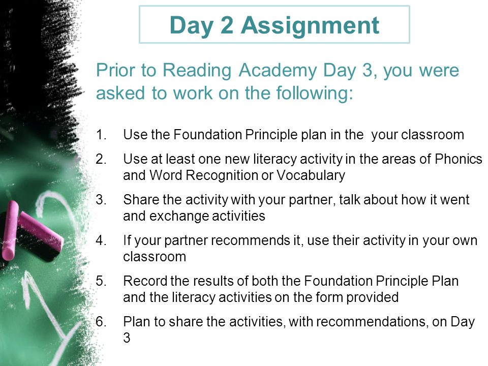 Reading academy 2 5 day 3 april 16 2014 presented by for How to read a foundation plan