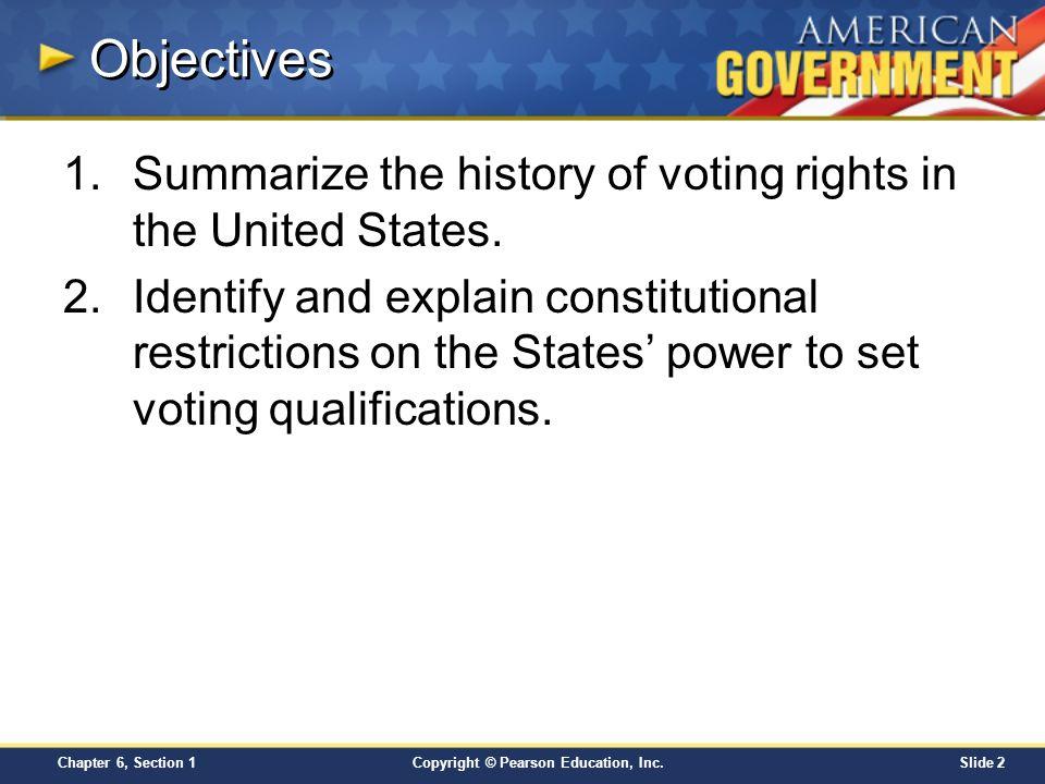 chapter 6 voters and voter behavior section 1 ppt video online download. Black Bedroom Furniture Sets. Home Design Ideas
