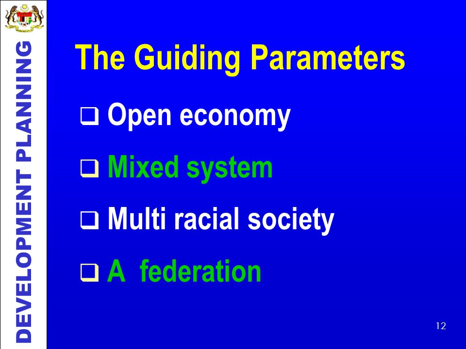The Guiding Parameters