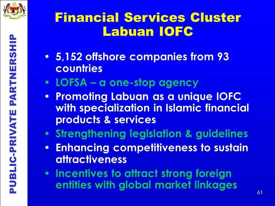 Financial Services Cluster Labuan IOFC