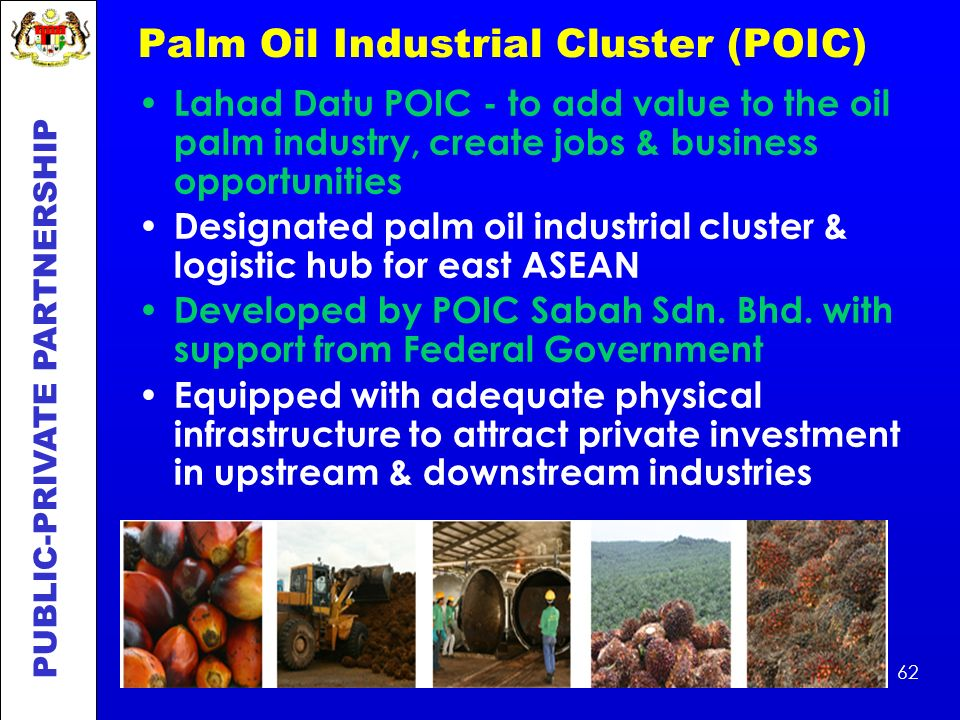 Palm Oil Industrial Cluster (POIC)