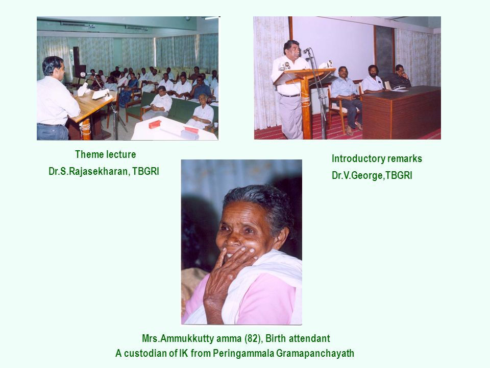 Mrs.Ammukkutty amma (82), Birth attendant