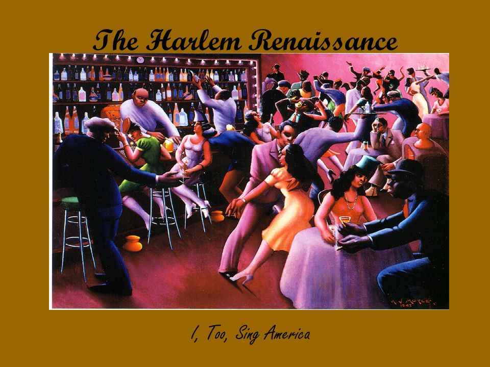 an overview of the harlem renaissance in the united states Get an answer for 'what is a good summary of the harlem renaissance' and find conceptualizing the harlem renaissance can harlem united states enter.