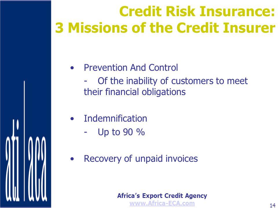 Credit Risk Insurance: 3 Missions of the Credit Insurer