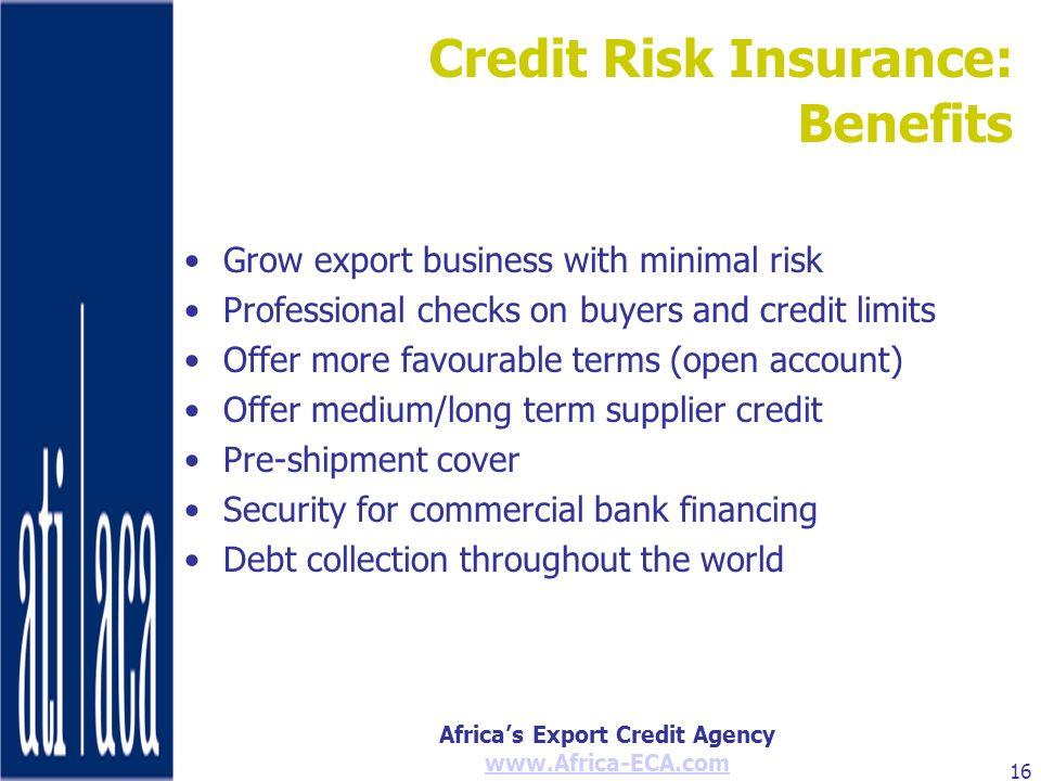 Credit Risk Insurance:
