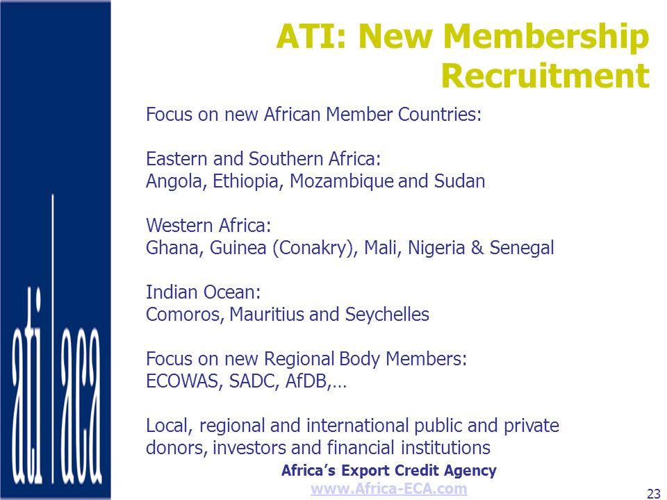 ATI: New Membership Recruitment