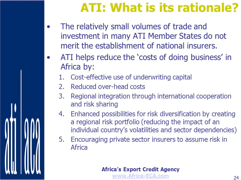 ATI: What is its rationale