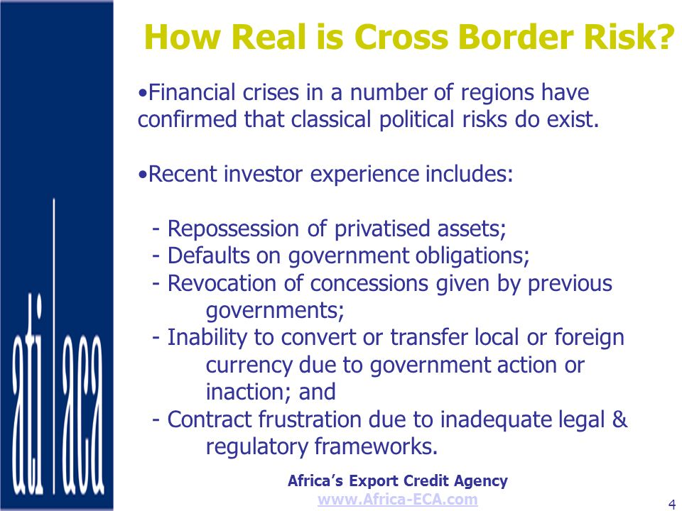 How Real is Cross Border Risk