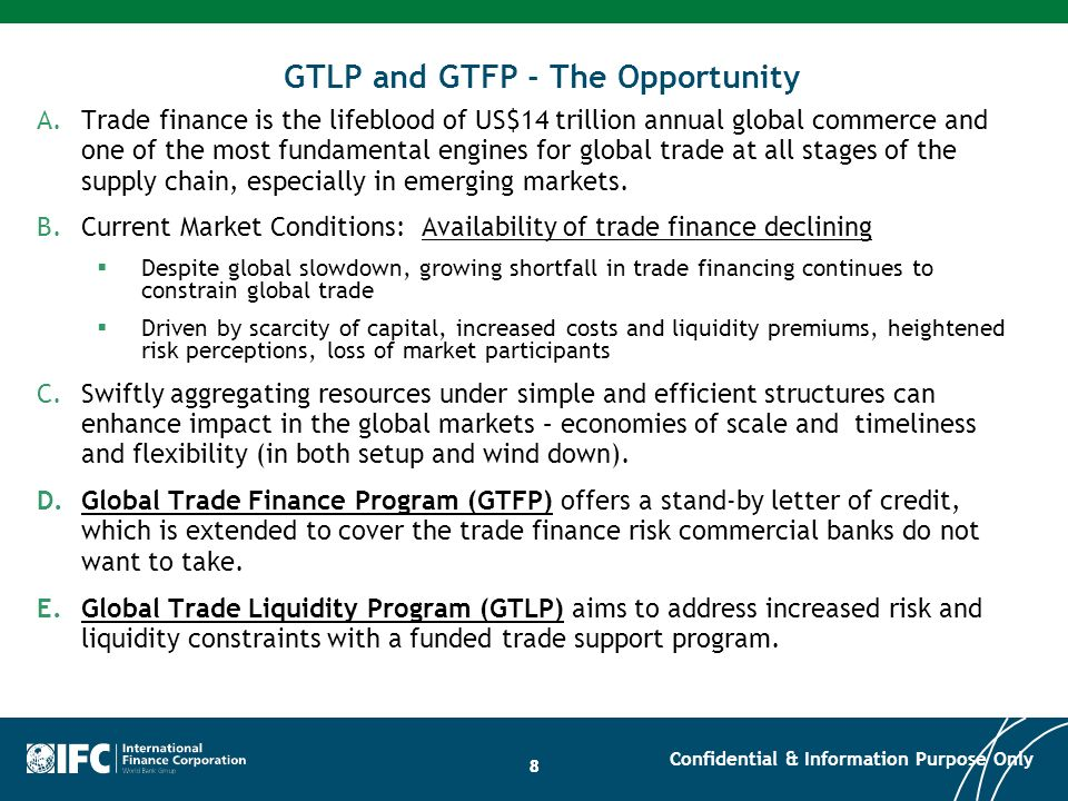 GTLP and GTFP - The Opportunity