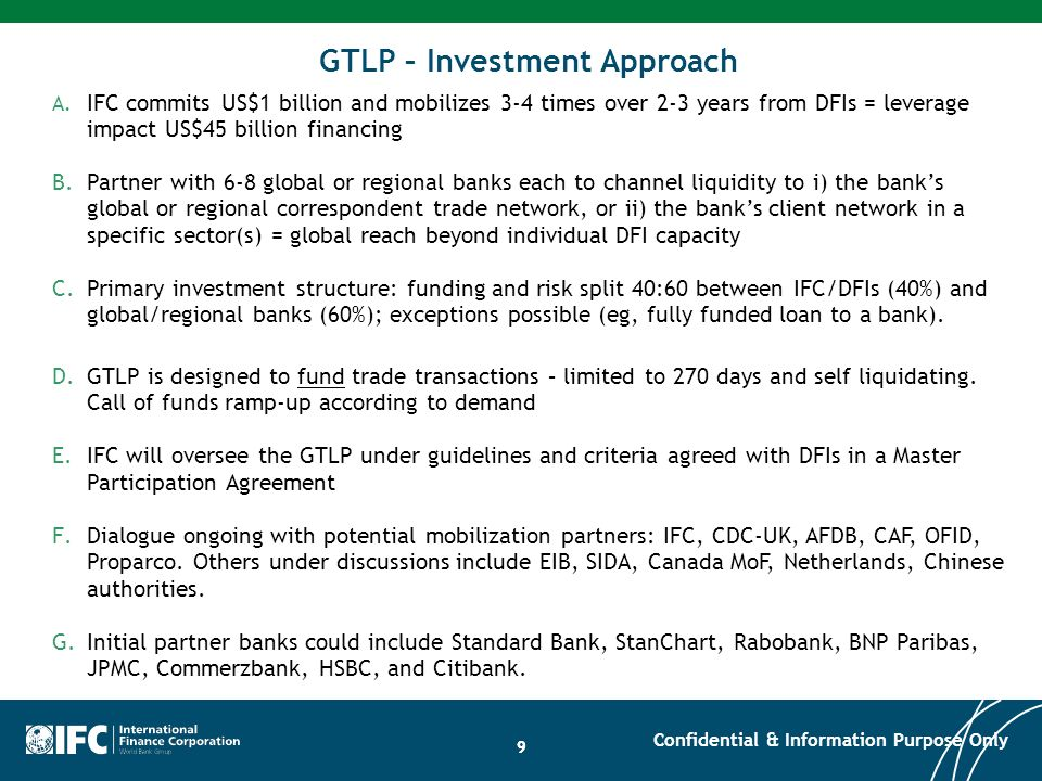 GTLP – Investment Approach