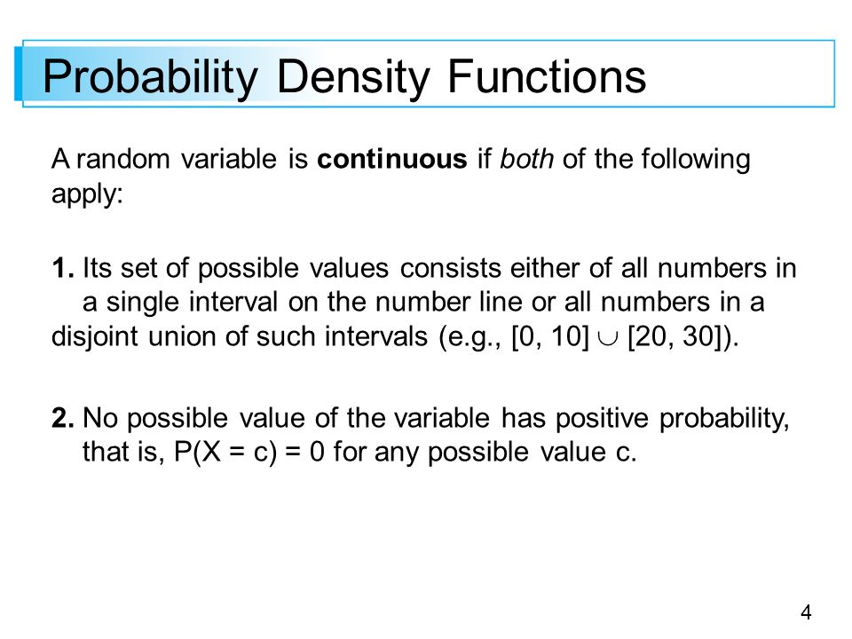 function of continuous random variable pdf
