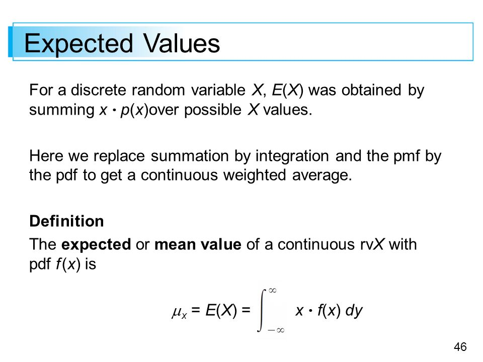 how to solve expected value
