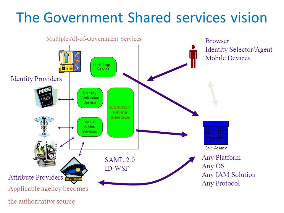 The Government Shared services vision